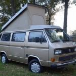 1986 VW Vanagon Westfalia Weekender - Auction In Tennessee