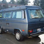 1987 vw Vanagon westfalia camper smallcar tacoma 2