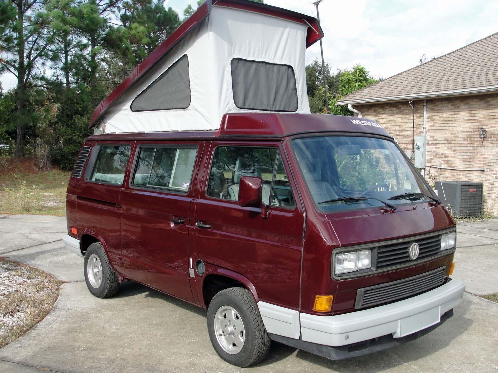 1990 Vw Vanagon Westfalia Camper 117k Auto 19 500