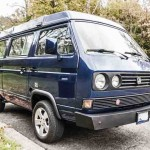 1991 vw vanagon westfalia camper blue washington dc acution 3