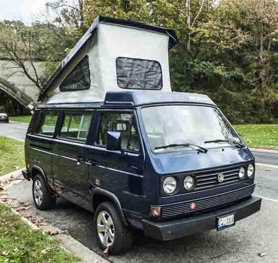 1991 VW Vanagon Westfalia Camper Auction In Washington D.C.