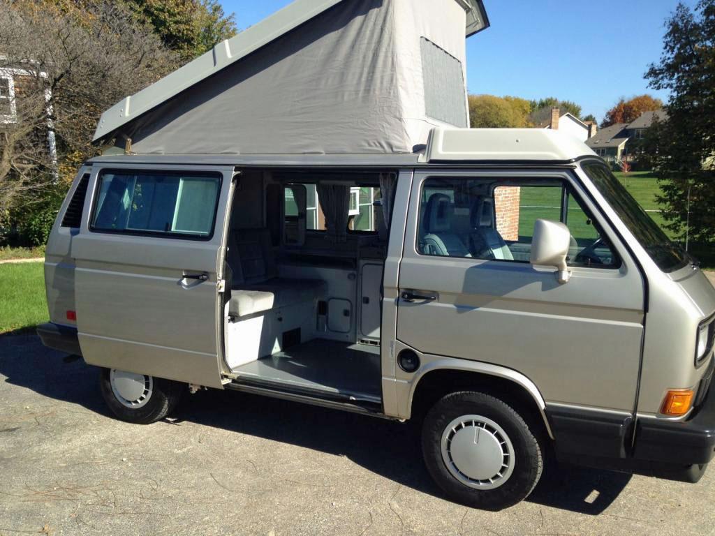 1991 VW Vanagon Westfalia Camper w/ 27k Miles - $40k in Illinois