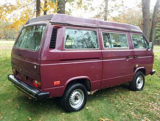 1987 VW Vanagon Westfalia Camper - $6,200 in Philadelphia, PA