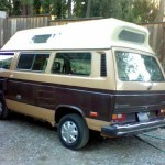 1984 vw Vanagon high top camper 8500 arcata