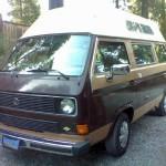 1984 vw Vanagon high top camper 8500 arcata 2