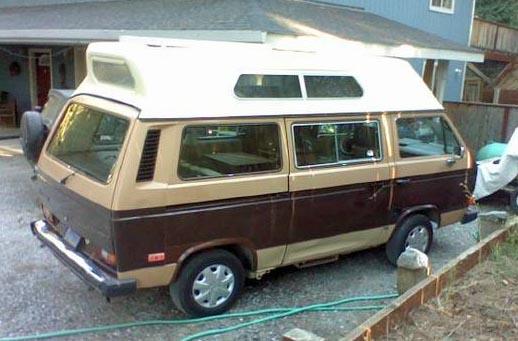 1984 VW Vanagon High Top Camper - $8,500 in Arcata, CA