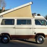 1985 VW Vanagon Westfalia Camper Auction in Santa Monica, CA