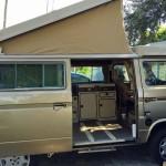 1985 vw vanagon westfalia camper gold automatic auction FL 4