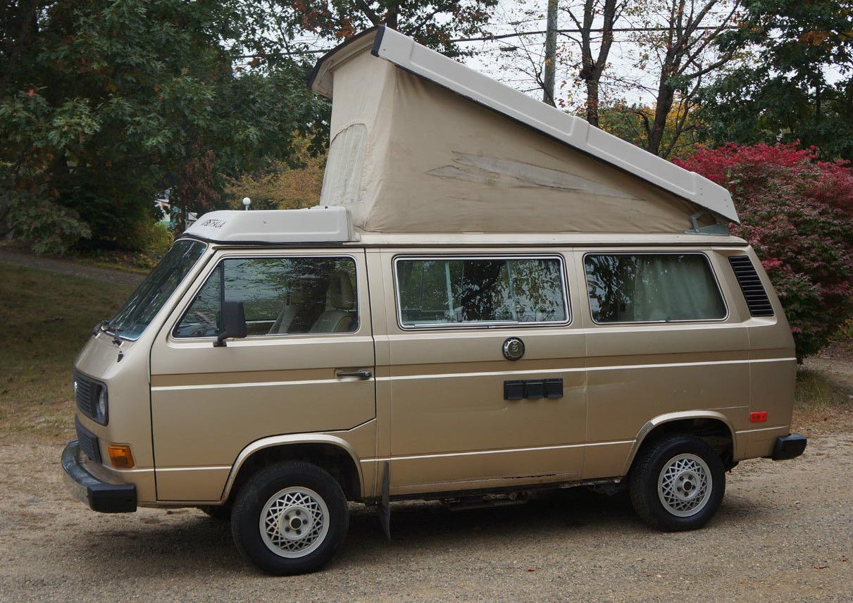 Vw Eurovan For Sale >> 1985 VW Vanagon Westfalia Camper - 170k Miles - Auction in Connecticut