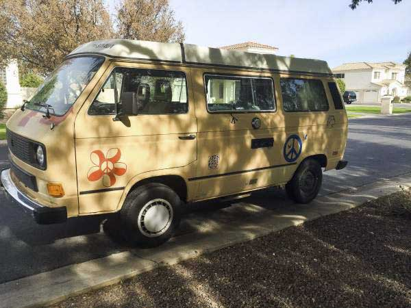 1985 vw vanagon westfalia camper w rebuilt engine