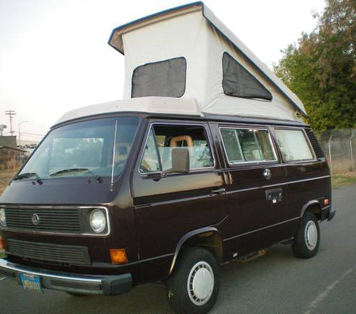 1985 vw vanagon westfalia camper auto 146k 9 700 in sacramento ca. Black Bedroom Furniture Sets. Home Design Ideas