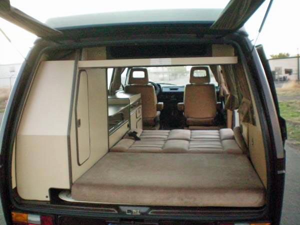 1985 vw vanagon westfalia camper auto 146k 9 700 in sacramento ca. Black Bedroom Furniture Sets. Home Design Ideas