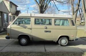 1986 VW Vanagon Westfalia Camper - $7,500 in Detriot, Michigan