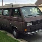 1986 vw Vanagon westfalia weekender brown 6500 sf 2