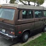 1986 vw Vanagon westfalia weekender brown 6500 sf 4