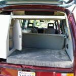 1987vw Vanagon westfalia syncro camper red auction los angeles 3
