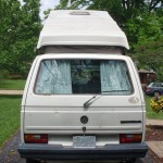 1988 vw Vanagon westfalia camper missouri auction 3