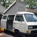 1988 VW Vanagon Westfalia Camper Auction - ST. Louis, Missouri