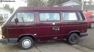 1990 VW Vanagon Westfalia Camper - $9,000 in Eugene, OR