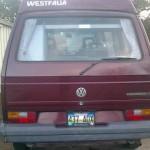 1990 vw Vanagon westfalia Camper 9k eugene or 4