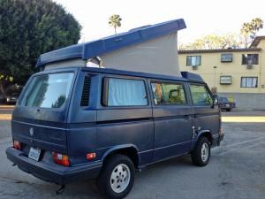 1990 VW Vanagon Westfalia Camper Auction in Los Angeles - $18k