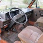 1984 vw vanagon westfalia camper orange atascadero california 10k 3