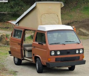 1984 vw vanagon westfalia camper 10 250 atascadero california. Black Bedroom Furniture Sets. Home Design Ideas