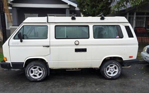 Deal? 1987 VW Vanagon Syncro (AWD) Westfalia Camper - $23k in Lo