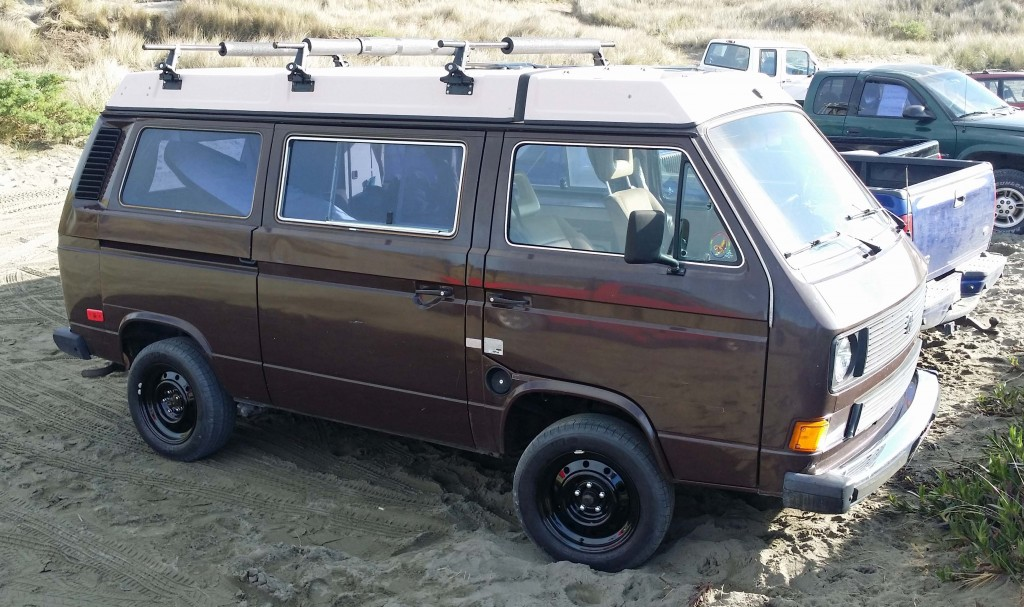 """Juanita As Of January 14th, 2015 - New Go Westy 16"""" Steel Wheels & Michelin Defender Package w/ new 1/2"""" Rear Spring Shims"""
