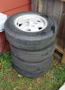 "14"" Vanagon Mag Wheels & Vanco Tires For Sale"