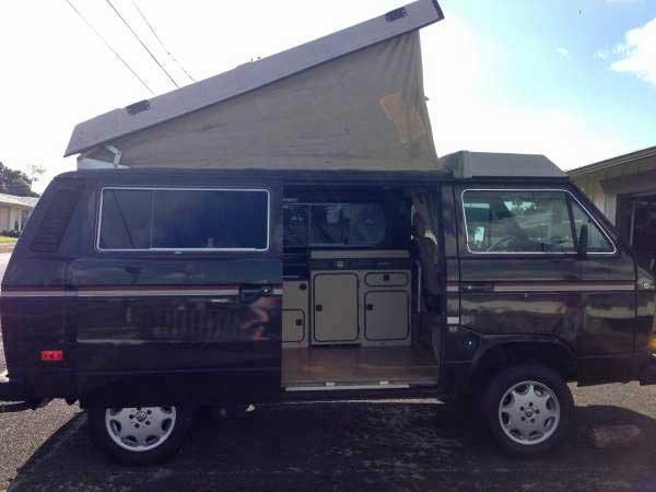 Hawaii! 1985 VW Vanagon Westfalia Camper - $9,900 in Hilo