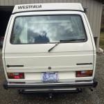 1985 vw vanagon westfalia camper white auction eureka mt 3