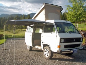 1985 VW Vanagon Westfalia Camper Auction in Eureka, Montana ends Feb 14th, 2015