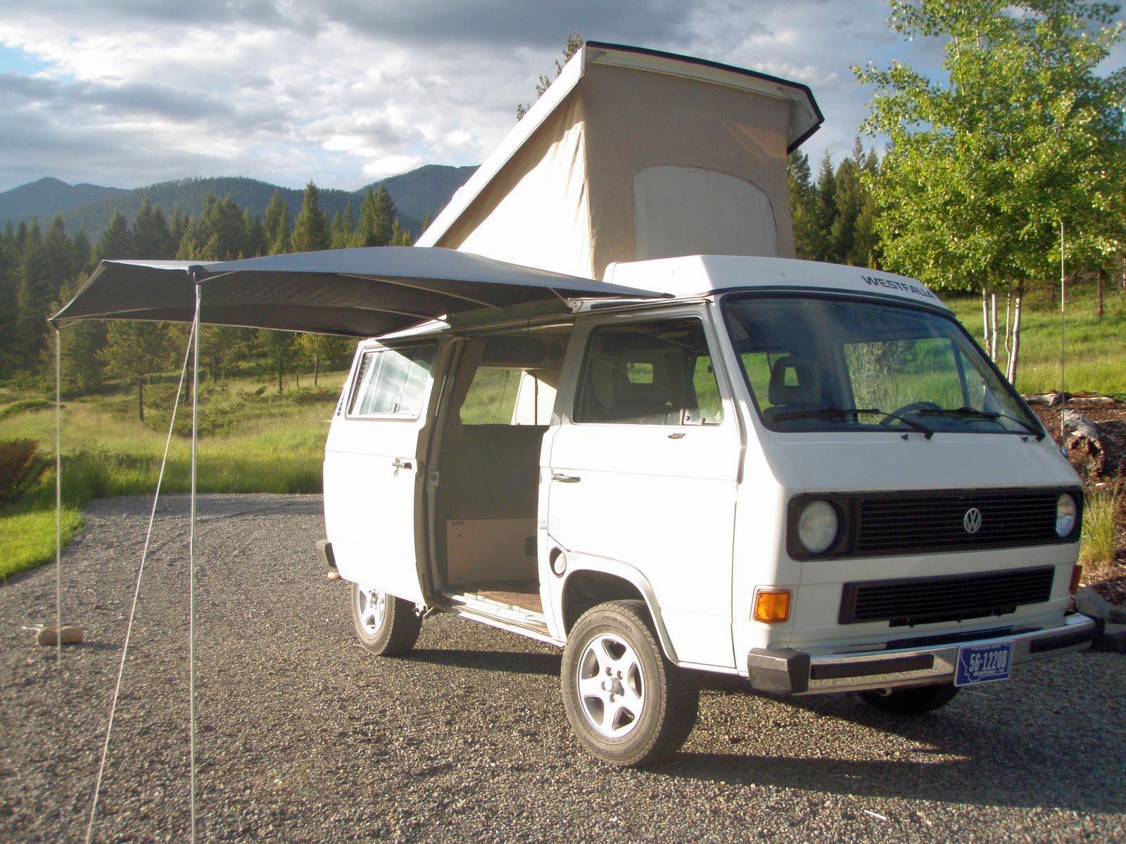 1985 VW Vanagon Westfalia Camper Auction in Eureka, Montana ends