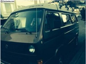 1985 VW Vanagon Westfalia Weekender w/ Automatic Trans - $8,200 in SF