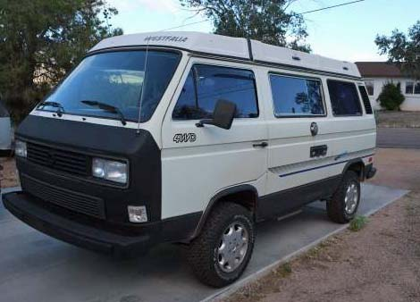 1986 syncro vanagon westfalia camper 26 500 in phoenix. Black Bedroom Furniture Sets. Home Design Ideas