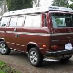 1987 vw vanagon westfalia camper syncro red auction tacoma wa 37k 2