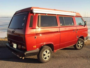 1988 VW Vanagon Westfalia Camper w/ 2 2L Subaru $12,900
