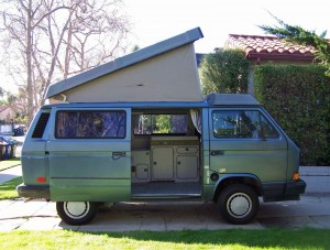 1989 VW Vanagon Westfalia Camper w/ 58k Miles - Auction in Los A