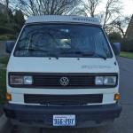 1990 vw vanagon syncro westfalia camper white seattle 55k 4
