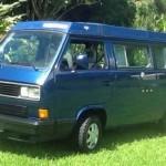 1991 vw vanagon westfalia camper orly blue auto hilo hi 16500 2