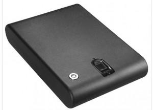 Mini Fingerprint Safe Lock Box - Great for Vehicles and Homes