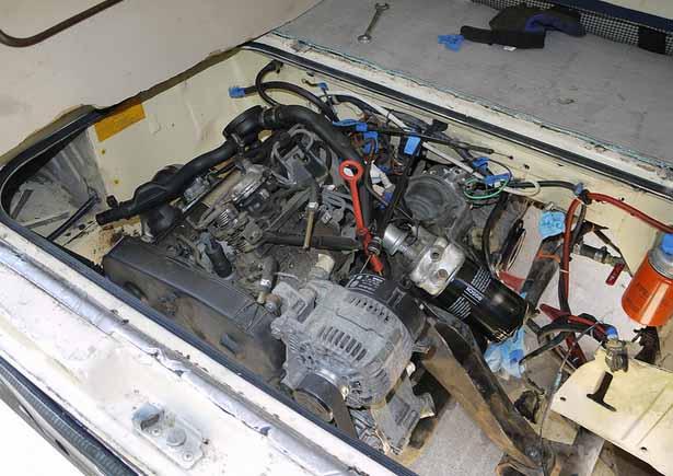 1982 Westy Camper W   1 9l Turbo Diesel