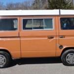 1983 vw vanagon westfalia camper aussan brown jersey auction 50k miles 2