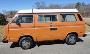 49k Miles! 1983.5 VW Vanagon Westfalia Camper Auction in New Jersey