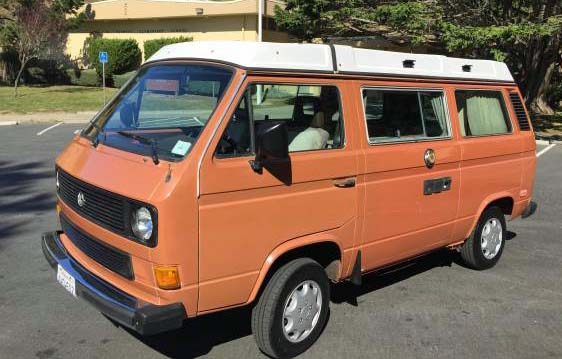 nice 1984 vw vanagon westfalia camper 14 900 in noe valley ca. Black Bedroom Furniture Sets. Home Design Ideas