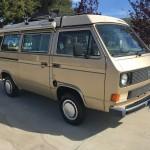 1985 vw vanagon westfalia camper auction lompoc ca