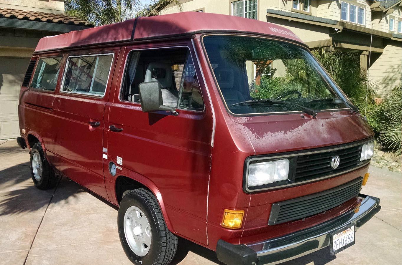 1987 vw vanagon westfalia camper 108k miles auction in. Black Bedroom Furniture Sets. Home Design Ideas