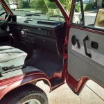 1987 vw vanagon westfalia camper auction brentwood ca red 3