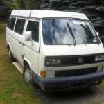 1990 vw vanagon westfalia camper white manual 13k ny state